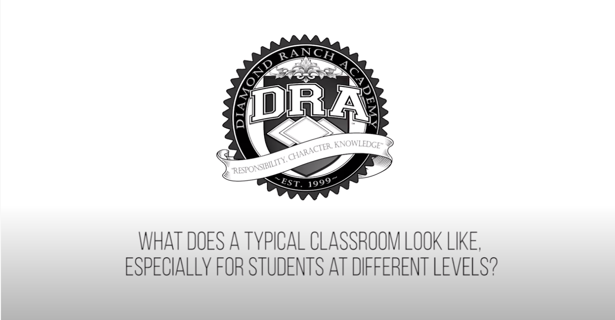 How does Diamond Ranch Academy accommodate different learning levels?